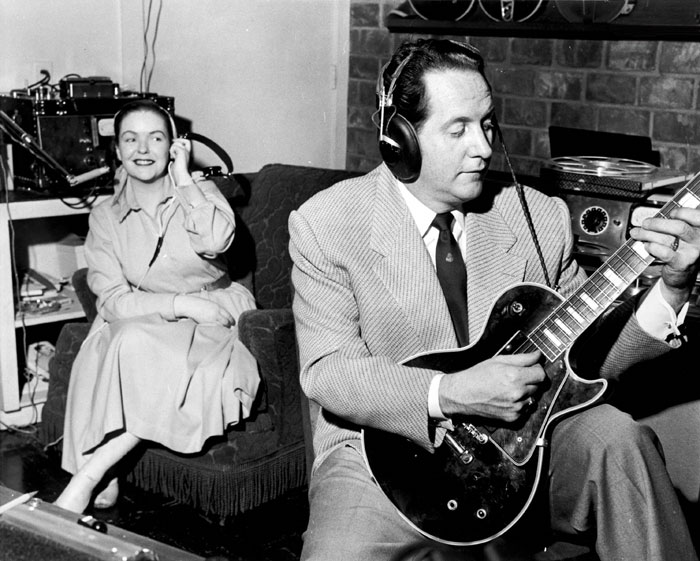 Les Paul與妻子Mary Ford。