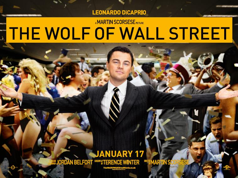 MPlus | 關於貪婪:《華爾街之狼》(2014) Wolf Of Wall Street Movie Cover